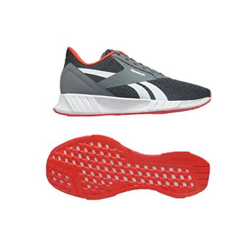 Reebok Lite Plus 2.0 Laufschuhe, Unisex, für Erwachsene, Mehrfarbig - Pugry6 Trgry8 Dynred - Größe: 40 EU