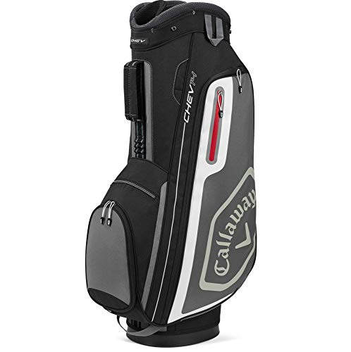 Callaway Golf 2020 Chev 14 Cart Bag Black/Charcoal/White, One Size
