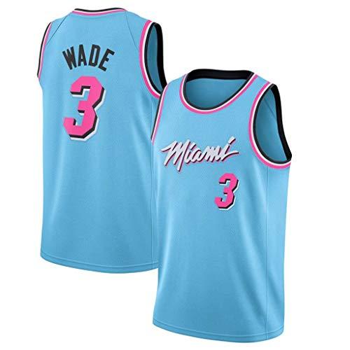 YISUDA NBA Baloncesto Jersey Miami Heat 3# Wade 22# Butler Jerseys ...