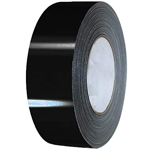 VViViD 3M 1080 Black Gloss Vinyl Detailing Wrap Pinstriping Tape 20ft Roll (2 Inch x 20ft roll)