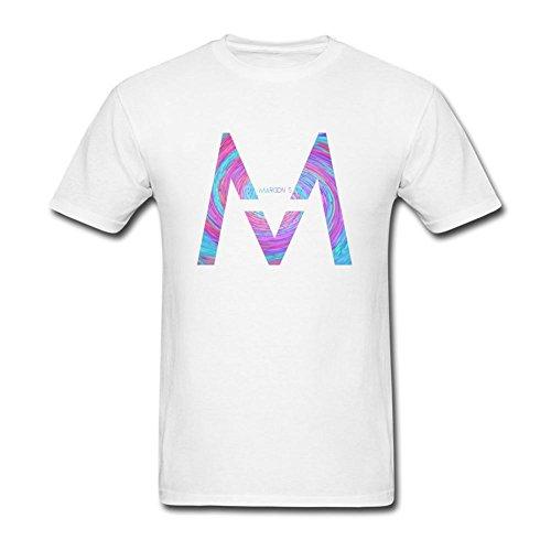 SLJD Hombres de Maroon 5se Mueve como Jagger diseño T Shirt