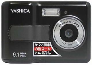 YASHICA 912万画素デジタルカメラ EZ F924 8倍ズーム Youtubeに簡単アクセス