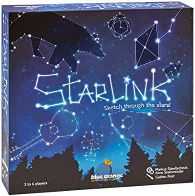 Blue Orange Games Starlink Party Game New Party Drawing Game for 3 to 6 Players Recommended product image