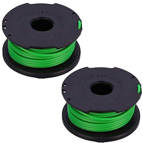 Spares2go Nachfüllspule und Faden für Black + Decker GL7033 GL8033 GL9035 STB3620L Rasentrimmer (2 Stück)