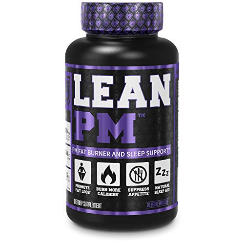 Lean PM Night Time Fat Burner, Sleep Aid Supplement, Appetite Suppressant for Men and Women - 30 Stimulant-Free Veggie Weight Loss Diet Pills