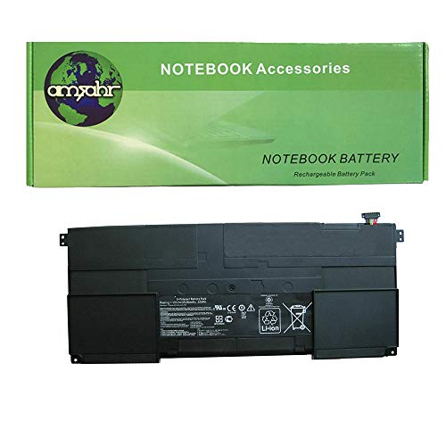 amsahr C41TAICHI31-02 Ersatz Batterie für Asus C41-TAICHI31/ Taichi 31-CX003H/ 90NB0081-S00030/ C41-TAICH131 schwarz