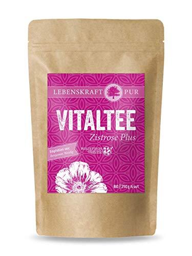 Bio Vitaltee Zistrose Plus 250 g | Cistus | Zistrosentee | Cistus Tee Bio | Cistus Incanus | Bio Tee | Cistus Incanus Tee
