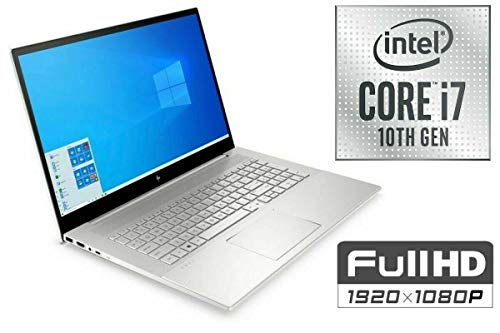 Ordenador portátil Envy 17-CE – Core i7-10510U – 16 GB DDR4-RAM – 500 GB SSD + 1 TB HDD – Windows 10 – 44 cm (17,3 pulgadas) pantalla Full HD 32GB RAM - 2000GB SSD + 2TB HDD