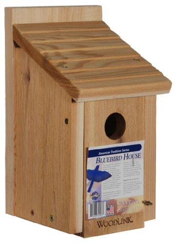 Woodlink Wooden Bluebird House  Model BB1