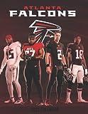 """Atlanta Falcons 2022 Calendar: American Football Calendar 2022, SPORT Calendar 2022-2023 – 18 months – BIG SIZE 17""""x11"""". Planner for all fans kids boys"""