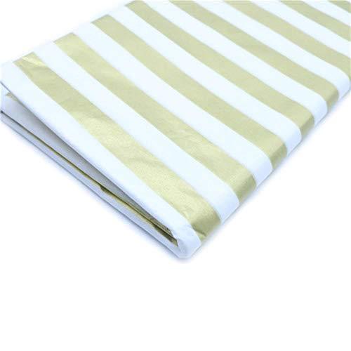 10 vellen 20x26 inch tissuepapier bloemkleding overhemd schoenen geschenkverpakkingen ambachtelijke papierrol wijn inpakpapier, gouden lijn