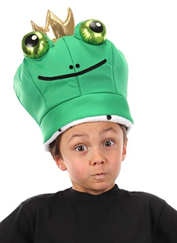 funny frog prince hat