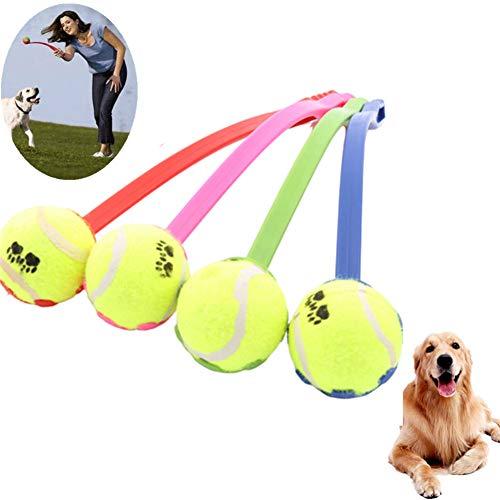 Gofeibao Giochi Interattivi per Cani Lancia Palline per Cani Palle per Cani indistruttibili Giocattoli per Cani per la noia