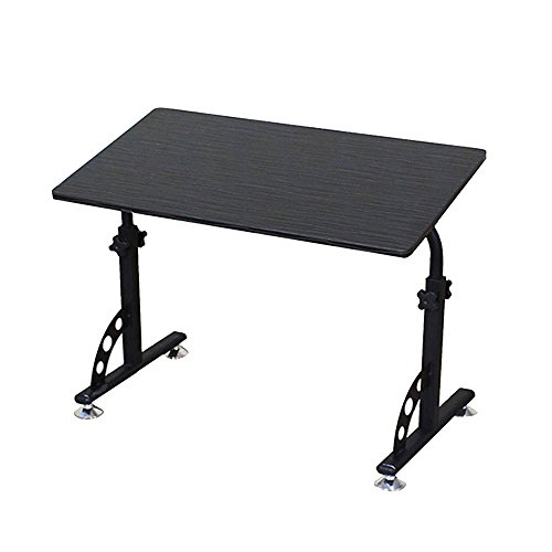 Jia He Lapdesks Laptop-Tisch - Nachttisch mit Riemenscheibe Verstellbare Tischhöhe-Liege Schreibtische Lernen Faltbare Lagerung Tischplattenneigung Optionale Farbe (Farbe : 01)