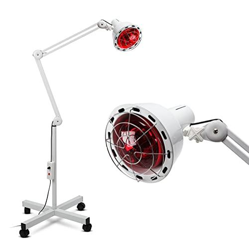 Boston Technology WE-108 Lámpara Infrarroja fisioterapia Flexible de 275W para Termoterapia. Alivio para dolores musculares, circulación y articulación.