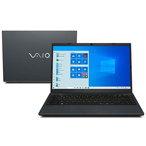 "Notebook Vaio FE14, Intel Core i5, 8GB RAM, SSD 256GB, Tela 14"" LCD FullHD, Windows 10 - Chumbo Escuro"