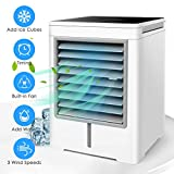 Personal Air Cooler, Portable Evaporative Conditioner with 3 Wind Speeds...