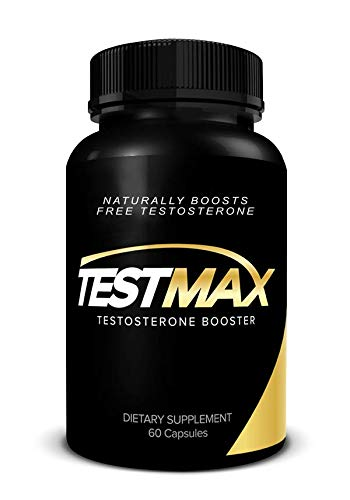 TESTMAX Men's Natural Test Boosting Formula - Promotes Lean Muscle Growth, Strength, & Energy - 60 Caplets