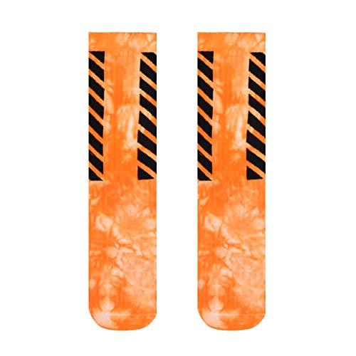 TAIYUAN Socke Stripe männer Socke socken Mann socken Krawatte Farbe Crew Casual Baumwolle warme straße sox Erwachsene Mode Herbst Winter Klassiker Bewegung (Color : 04, Size : 39 44)
