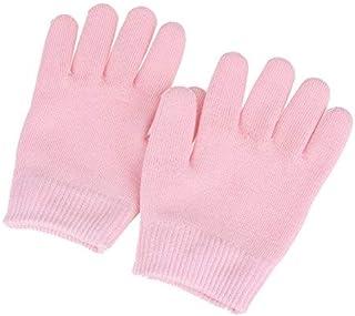 ジェルグローブ ジェル手袋 保湿 美肌 手袋 ハンドケア 手荒 おやすみ前用 ラッピング効果 スキンケア 美容成分 ホホバオイル ビタミンE レディース 綿 ピンク
