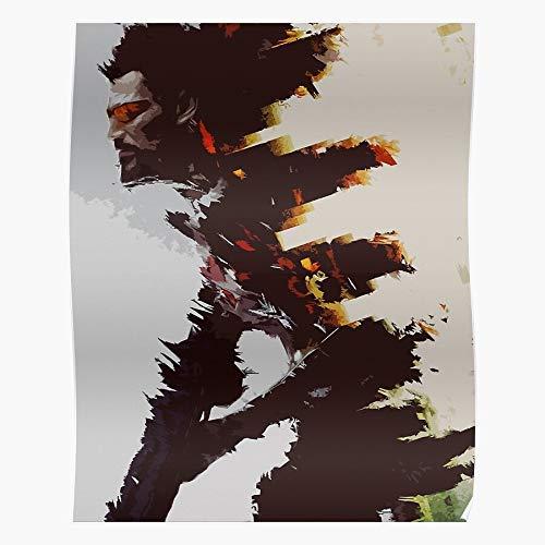 cocoblack Show Mankind Human Tv Ex Video Revolution Game Movie RPG Divided Deus Geschenk für Wohnkultur Wandkunst drucken Poster 11.7 x 16.5 inch
