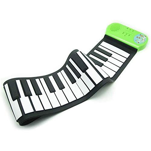 JJSFJH 37 Llaves Rueda for Arriba Suave Teclado de Piano Niño Rueda for Arriba el Teclado de Piano de música de la batería de la Mano de Teclado Adecuado for Begainners y niños (64 * 56 * 15 cm)