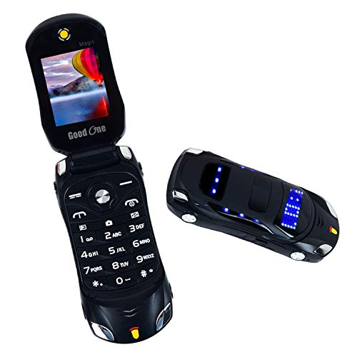 Skystar Goodone Magic Flip Phone (Dual Sim, Black)