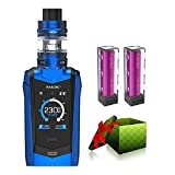 Electronic Cigarette,SMOK Species kit 230W TC Kit TFV8 Baby V2 Tank -Cigarette Starter Kit - No Nicotine (Prism Blue)