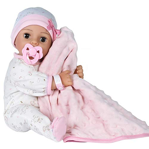 Adora Adoption Baby Cherish - 16 inch newborn doll, with accessories and Certificate of Adoption