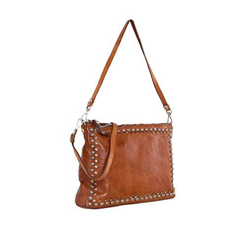 Campomaggi Lichene Handtasche Leder 29 cm