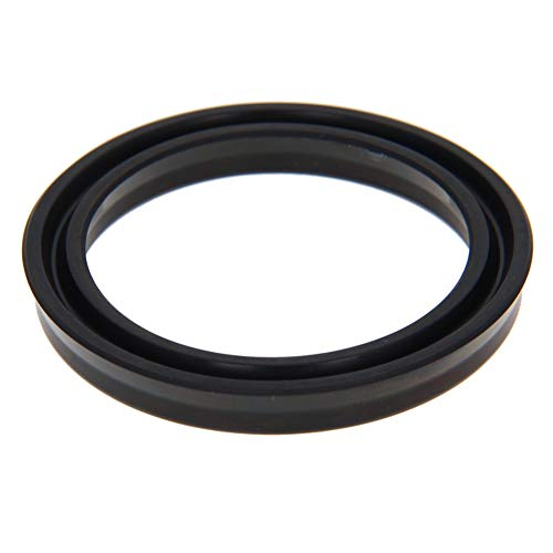 Othmro Hydraulic Seal Piston Shaft USH Oil Sealing O-Ring 50mm x 40mm x 6mm Nitrile Rubber Black 1pcs