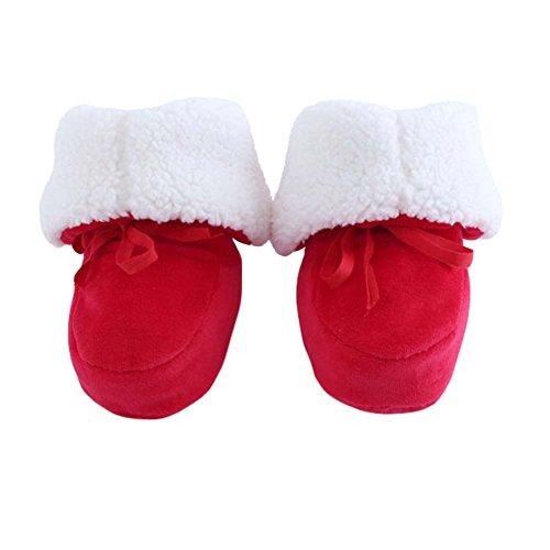 Grosses chaussures chaudes d'hiver d'hiver Chaussures de crèche Chaussures de bébé Chaussures de béb
