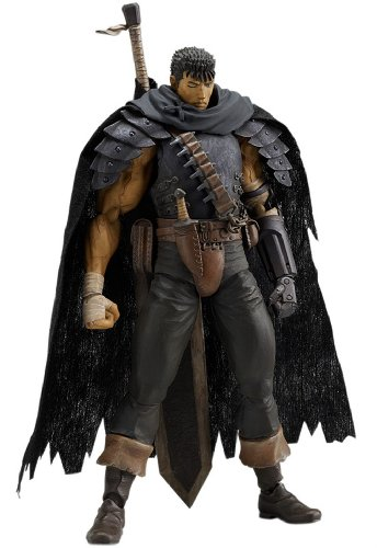 Berserk figma: Guts Black Swordsman Ver. Action Figure