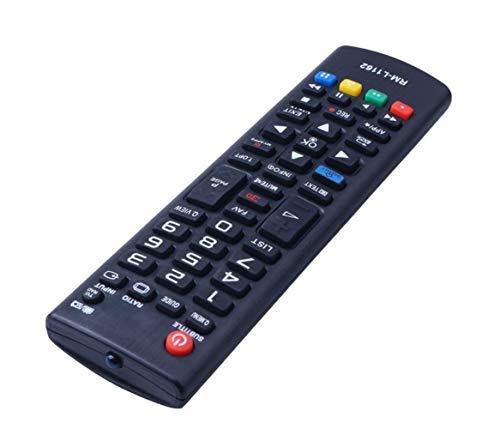 AIHONG Control Remoto RM-L1162 Control Remoto for LG AKB73715610 AKB7447 AKB7397 528 560 LED TV Fernbedienung Smart Control Remoto inalámbrico Pequeño y Sensible