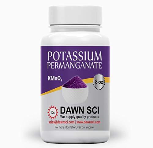 Potassium Permanganet (8 oz - Free Flowing Powder)