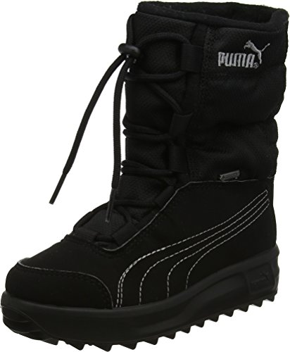 PUMA Borrasca III GTX PS, Schneestiefel, Schwarz (Black-Grey Dawn), 31 EU (12 UK)