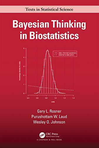Bayesian Thinking in Biostatistics (Chapman & Hall/CRC Texts in Statistical Science) (English Edition)