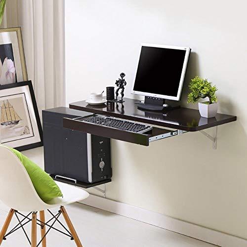 PanYFDD - Mesa de comedor plegable para pared, mesa de trabajo simple...