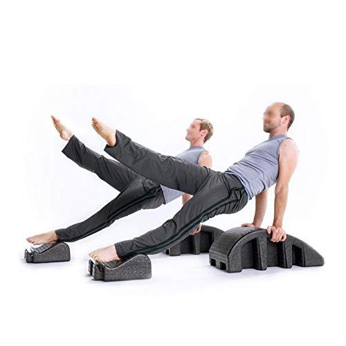 CN Cover Corrector De Columna Multicontrol, Mesa De Quiropráctica De Yoga con Diseño Desmontable Y Mayor Capacidad De Carga Cama De Masaje Pilates