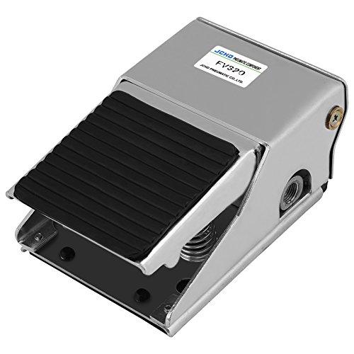 2-Posizione 3-Port pedale aria valvola di controllo G1/4 filo pneumatico piede controllo valore aria interruttore