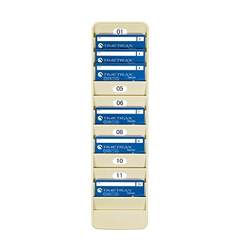 Pyramid 500-12 Badge Rack, 12 Pocket