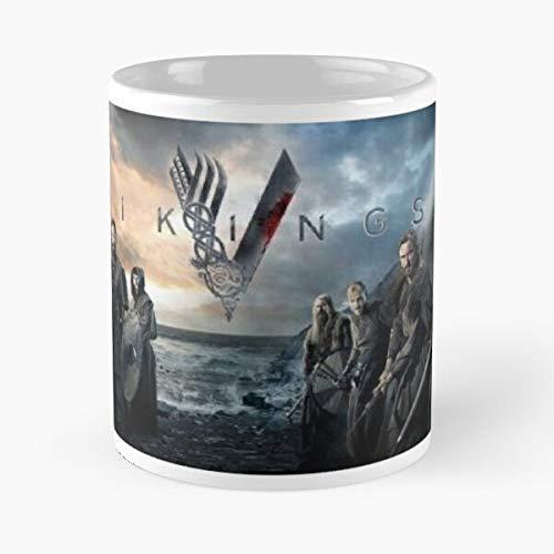 Loki Vikings History Valhala Tv Program Marauders Series Best Taza de café de cerámica de 11 oz