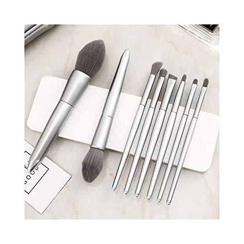Sets de pinceaux de Maquillage Pinceau de Maquillage Ensemble 10 pièces Portable Complet Pinceau Fard à paupières Maquillage Pinceau cosmétique débutant Outils Super Doux Pinceau de Maquillage