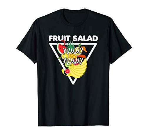 Fruit Salad Yummy Yummy Vegetarian Vegan T-Shirt