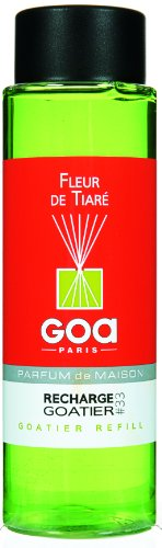 Goa 25933 Diffuseur Recharge Goatier Fleur de Tiare 250 ML