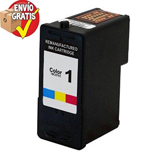 LEXMARK - Tinta Inkjet Nº1 Color Compatible para Lexmark X2310/X2350/X2450/X2470/X3470/Z735 ENVIO GRATIS