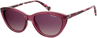 Polaroid Cat Eye Sunglasses for Women - Purple