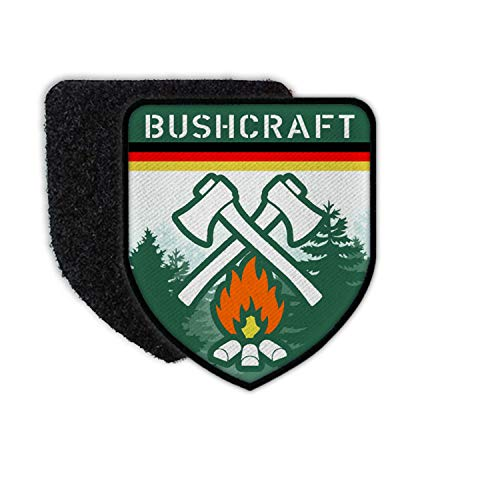 Copytec Patch Bushcraft Germany Deutschland Survival Outdoor Wald Prepper #32041