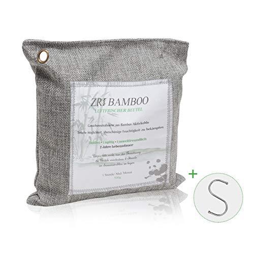 Lufterfrischer Säckchen für Auto Wohnung aus Bambus Aktivkohle - 500g