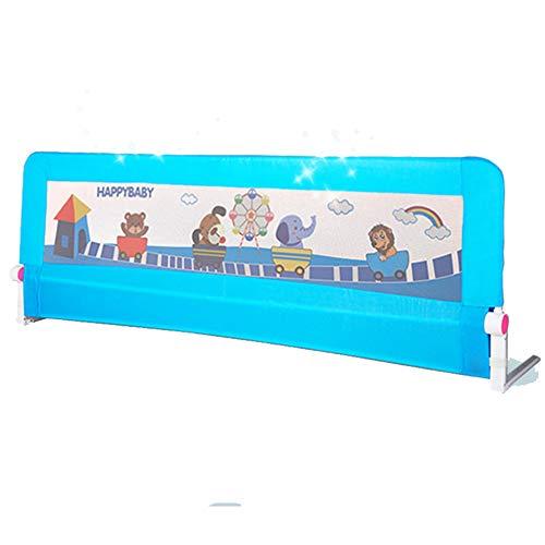 Barrières de lit LHA Lit Fence 1.8 M Barre De Lit Bébé Enfant Chevet Garde-Corps Baffle-180cm